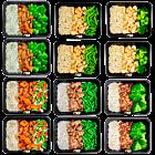Basics - chicken - vegetables mix pack (6x2) -NEW