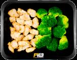 Gebakken kipfiletblokjes - Broccoli (met kruiden)