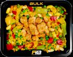 Paella - Gebakken kipfilet blokjes - BULK SPECIAL EDITION