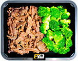 Runderreepjes Teriyaki - Broccoli (met kruiden)