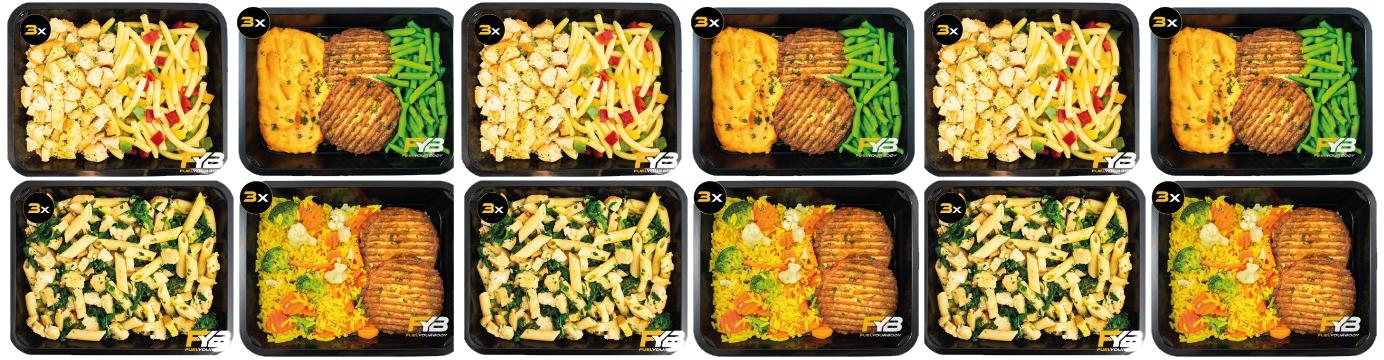 Vegetarische maaltijden